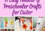 11 Easy Toddler and Preschooler Crafts for Easter