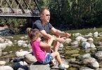 Family Camping at Chehalis River, BC