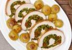 Sundried Tomato & Greens Stuffed Turkey Breast Roast